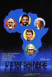 L'état sauvage Poster