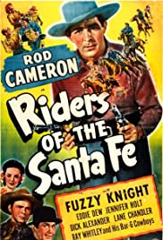 Riders of the Santa Fe Poster