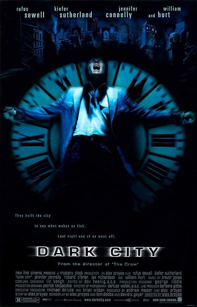 Dark City 1998 Hindi Dubbed Dual Audio 480p BRRip full movie watch online freee download at movies365.org