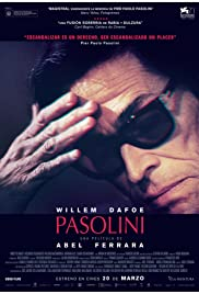 Pasolini (2014) Poster - Movie Forum, Cast, Reviews