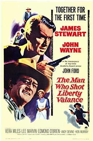 Poster Der Mann der Liberty Valance erschoss