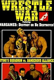 WCW Wrestle War Poster