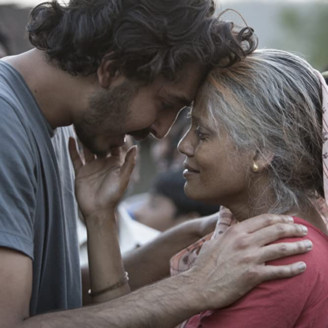 Dev Patel and Priyanka Bose in Lion (2016)
