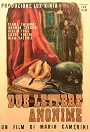 Due lettere anonime Poster