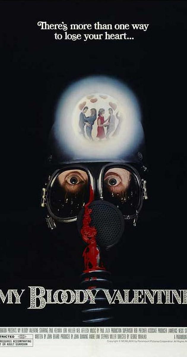 Kruvina mano Valentino diena / My Bloody Valentine (1981) Online