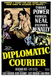 Diplomatic Courier (1952) Poster - Movie Forum, Cast, Reviews