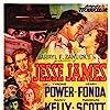 Henry Fonda, Tyrone Power, Randolph Scott, John Carradine, Jane Darwell, J. Edward Bromberg, Henry Hull, and Nancy Kelly in Jesse James (1939)