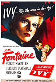 Ivy(1947) Poster - Movie Forum, Cast, Reviews