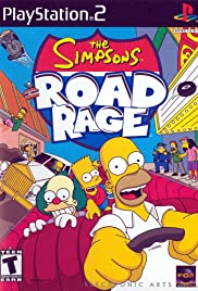 The Simpsons: Road Rage Poster