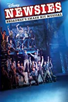 Disney's Newsies the Broadway Musical Poster