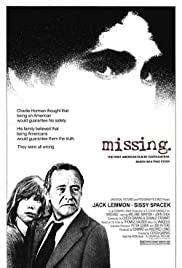Missing (1982) Poster - Movie Forum, Cast, Reviews