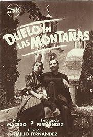 Resultado de imagen de duelo en las montañas 1949