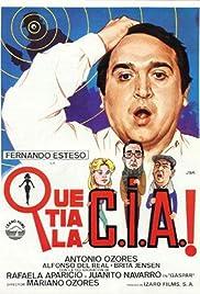 ¡Qué tía la C.I.A.! Poster
