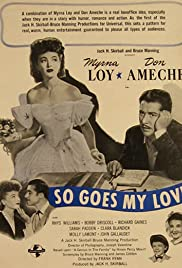 So Goes My Love (1946) Poster - Movie Forum, Cast, Reviews