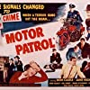 Don Castle, Reed Hadley, William Henry, Sid Melton, and Jane Nigh in Motor Patrol (1950)