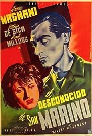 Lo sconosciuto di San Marino Poster