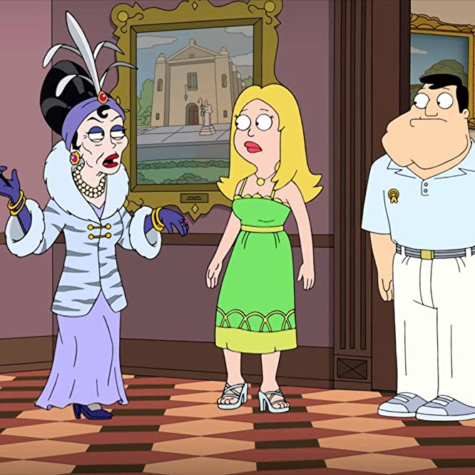 Kate Mulgrew, Seth MacFarlane, and Wendy Schaal in American Dad! (2005)
