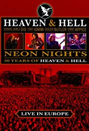 Heaven & Hell - Neon Nights, Live in Europe Poster