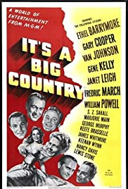 It's a Big Country: An American Anthology Poster