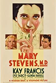 Mary Stevens, M.D. (1933) Poster - Movie Forum, Cast, Reviews