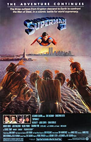 Superman II poster