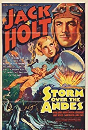 Storm Over the Andes Poster