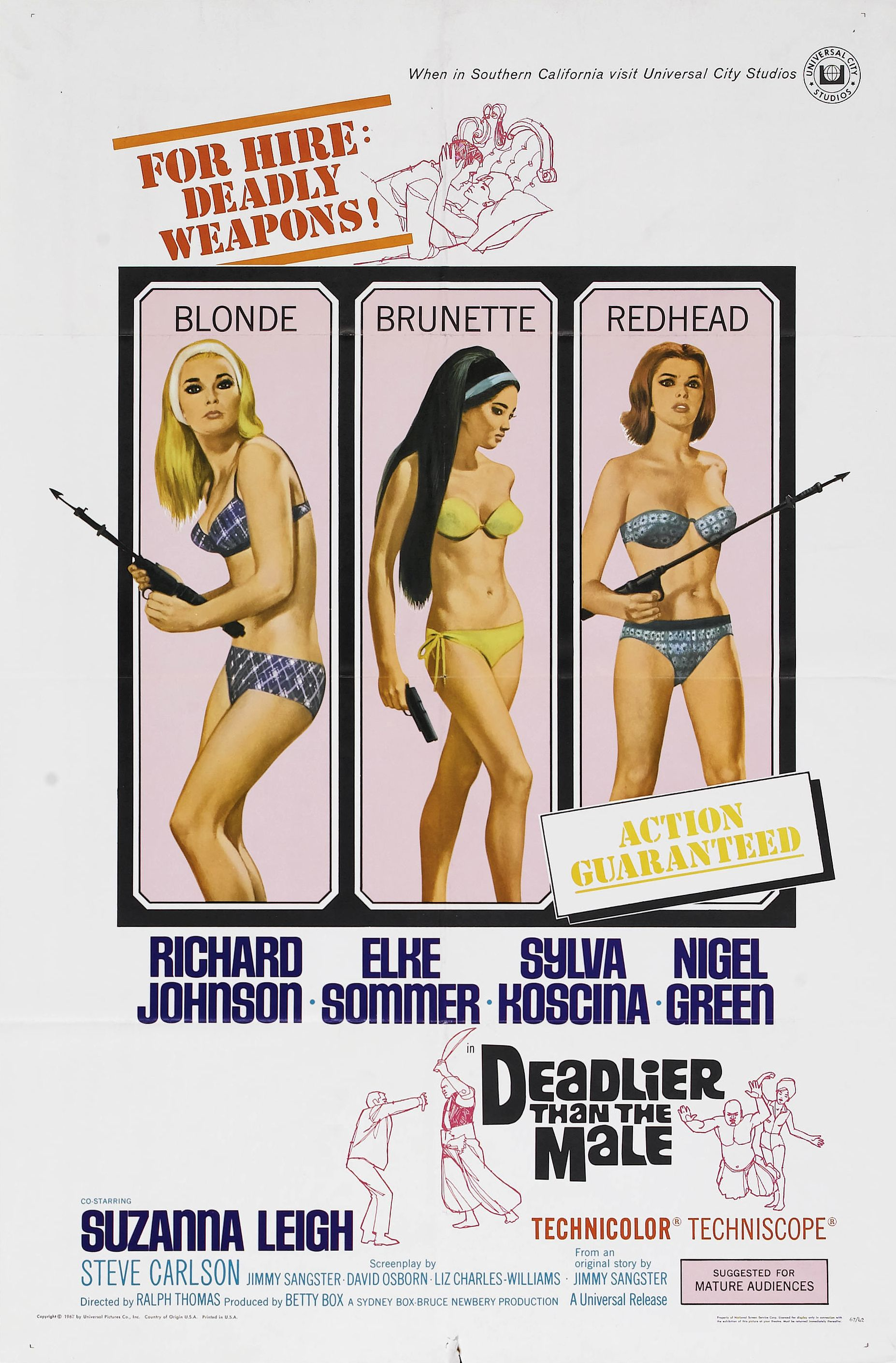 image Deadlier Than the Male Watch Full Movie Free Online