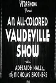 An All-Colored Vaudeville Show Poster