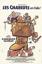 Image of Les Charlots en folie: À nous quatre Cardinal!