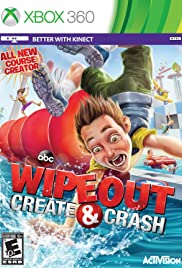 Wipeout: Create & Crash Poster