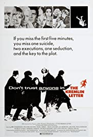 The Kremlin Letter Poster