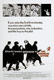 The Kremlin Letter(1970) Poster - Movie Forum, Cast, Reviews