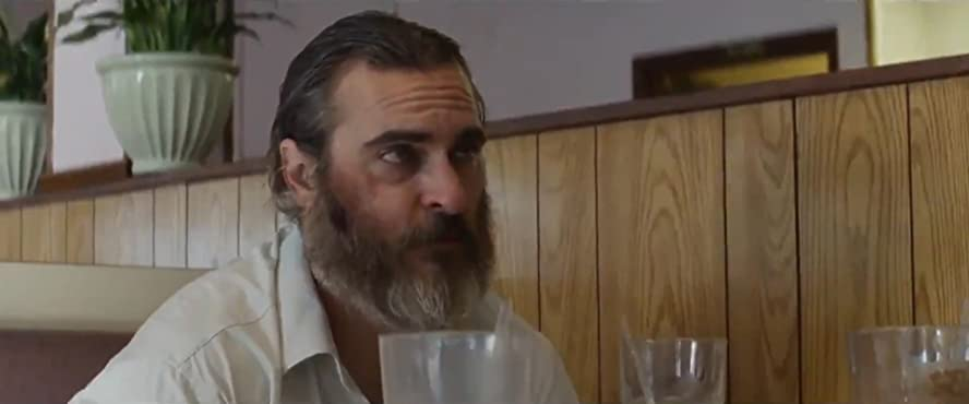 Image result for you were never really here diner