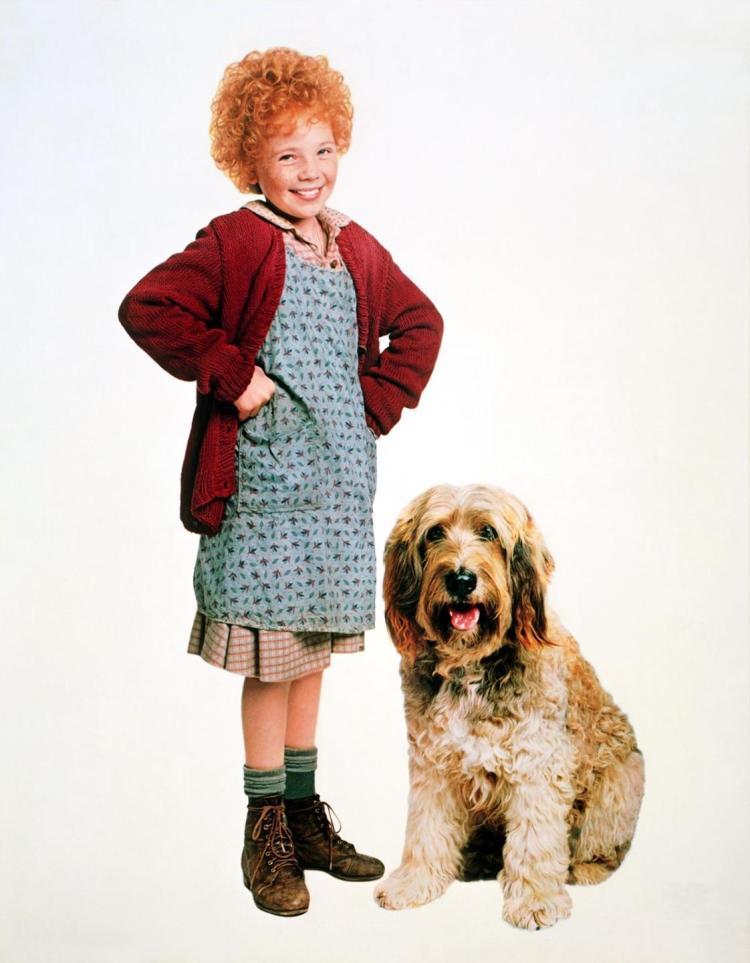 Aileen Quinn in Annie (1982)
