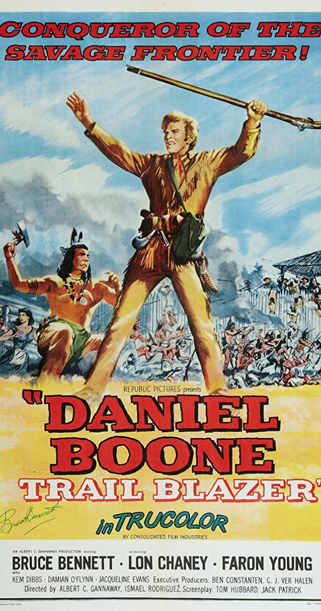Daniel Boone Trail Blazer Movie free download HD 720p