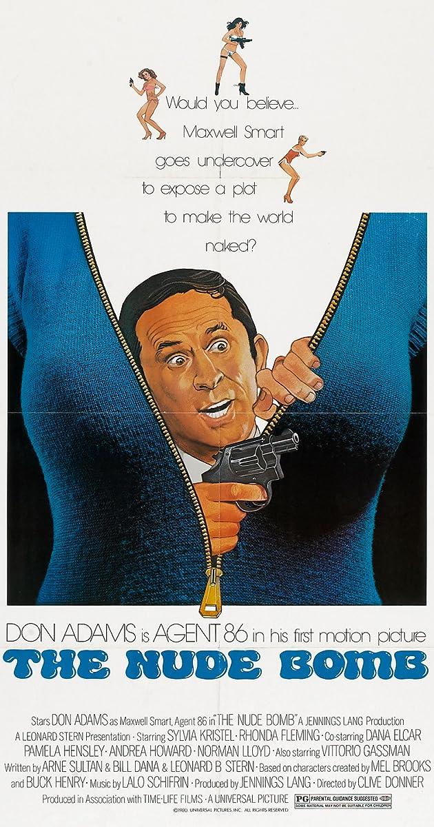 Ieškokit Gudručio: Nuoginamoji bomba / Get Smart: The Nude Bomb (1980) Online