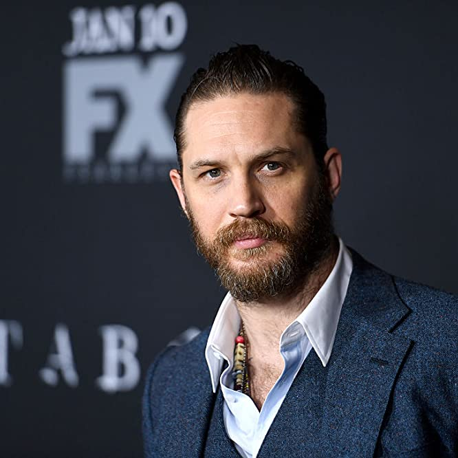 Tom Hardy at an event for Taboo (2017)
