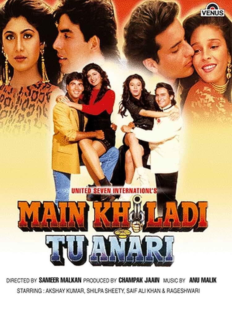 Main Khiladi Tu Anari (1994) Full Movie Watch Online Free Download
