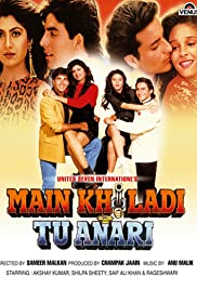 Main Khiladi Tu Anari (1994) Poster - Movie Forum, Cast, Reviews