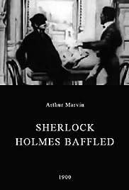 Sherlock Holmes Baffled Poster