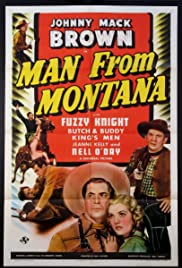 Man from Montana Poster