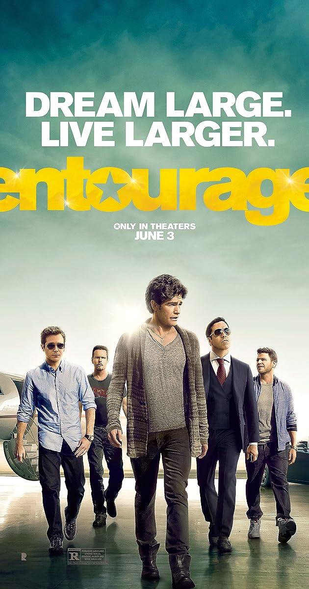 Draugeliai / Entourage (2015) Online