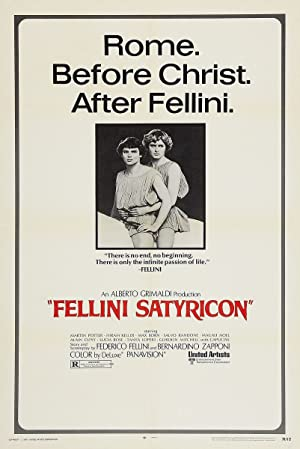 Fellini's Satyricon poster