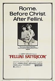 Fellini - Satyricon Poster