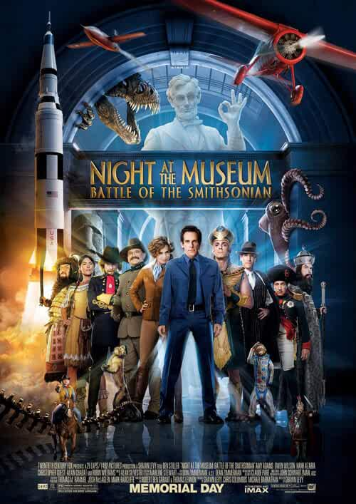 Poster Night At The Museum 2 Battle Of The Smithsonian (2009) Dual Audio