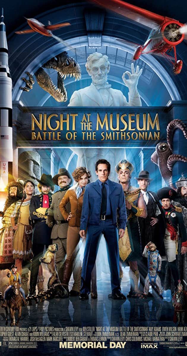 Naktis muziejuje 2 / Night at the Museum: Battle of the Smithsonian (2009) Online