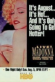 Madonna: Blond Ambition World Tour Live(1990) Poster - TV Show Forum, Cast, Reviews