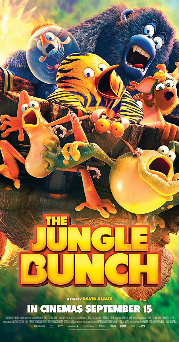 Džiunglių būrys / The Jungle Bunch / Les as de la jungle (2017)