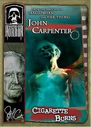 John Carpenter's Cigarette Burns poster