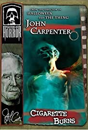 John Carpenter's Cigarette Burns Poster